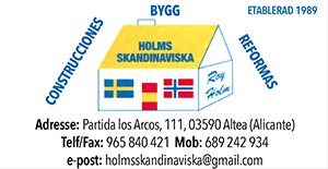 Holms Skandinaviska - Construction Services